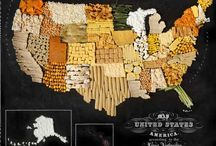 America, the land of glorious & delicious food / Food / by Victoria Vossler