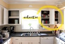 kitchen make overs / by Karen Buck
