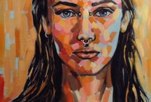 Portrait & Figure Art We Love / The human form is perhaps the most captivating of all subject matter you can paint or draw. Here's our favourite portrait and figure drawings from around the Web / by ArtTutor.com