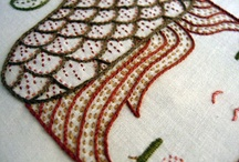 Embroidery and Cross Stitch / by Madeleine Thomas