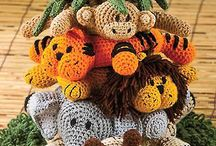 Crochet Jungle Afghan Pattern : Elephant in Jungle Safari Afghan Crochet Pattern Graph 100st