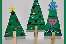 Preschool Christmas Crafts / by Christy Price