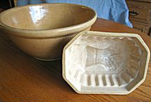 Vintage Kitchen Molds / This board contains various types of molds, most are vintage or antique. These molds are for sale at my on-line store, More Than McCoy. Stop in if you are a collector, designer, or gift giver! / by More Than McCoy