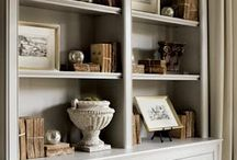 Built-in Bookcases / bookshelf styling  / by Julia Ryan | Pawleys Island Posh