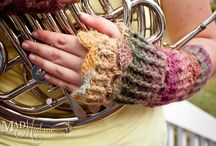 Crochet - Gloves and Wristwarmers / by Petals to Picots Crochet