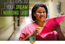 Career Advice / Providing career advice for nurses / by Chamberlain College of Nursing