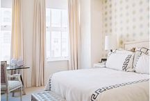 Bedrooms  / by Mallory @ the House of Hydrangeas