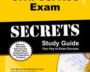 Civil Service Exam Study Resources / A collection of Civil Service test study aids to help prepare for the Civil Service test. Practice questions, flashcards, and a study guide that can help on the test. / by Test Prep Review - Free Practice Tests