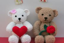 Valentines Knits / Valentines knitted toys / by Knitables