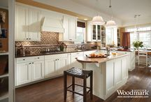 Kitchen Inspirations / Here's a few of our favorite kitchens / by American Woodmark Cabinetry