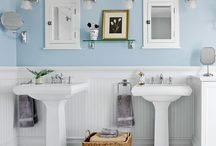 bathrooms / by Sheila Butler Woolsey