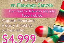 Fiestas Patrias / Ven a dar el grito en Flamingo Cancun Resort / by Flamingo Cancun Resort