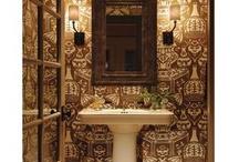 my kind of bathroom / by Kim Adcock