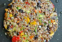 veggie burger recipes / by Kiara Gomez