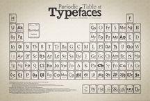 Typefaces / by MISS Omni Media - Gabriella Khorasanee