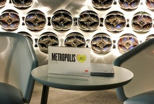 """#MetropolisLikes at NYDW / 3M Architectural Markets paired up with Metropolis Magazine to create """"Metropolis Likes,"""" a campaign showcasing the favorites of Metropolis Mag's editors  during New York Design Week. The signs awarded to the favorites were created using 3M™ Fasara™ Glass Finishes. All photo credit goes to Metropolis Magazine.  / by 3M Architectural Markets"""
