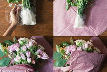 flower bouquet ideas / by Kim Young