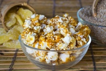 CrunchDaddy Popcorn Creations / Original gourmet popcorn products fresh from the kitchen of CrunchDaddy Popcorn! / by CrunchDaddy Popcorn™