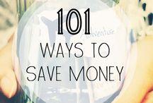 Saving money / by Melissa Sarager