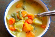 Soup's On! / A collection of soups to try (: / by ELB