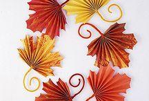 Fall Decor / Craft Ideas / Fall-Thanksgiving Decor and craft ideas. / by Paula Pereira