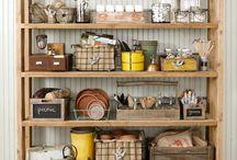 clutter control & Organizing / by Pauline Warden