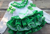 St. Paddys Day Girls Clothes / by Lizzie McDonnell
