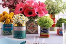 Sweet Table Tops / Entertaining and Design  / by Ruth Gray Chapman