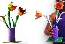 toilet paper kids craft / by Кrокотак