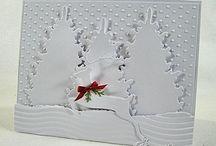 monochromatic christmas cards / by Lavinia Dow