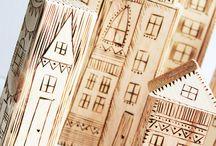 Woodburning craft / by K.