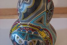 Decorated gourds / by Jane S