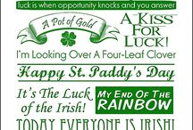 St Patrick's Day Ideas / by Sharon Rowley- Momof6