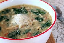 Savory Soups and Stews / Recipes for Soups and Stews. / by Mona Hodgson