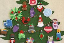 Christmas Advent Tree Craft / by Shelley Davis