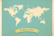 Maps Beautiful Maps / by Everything Etsy