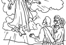 Catholic Coloring Pages / by Dixie Whodat-Lee