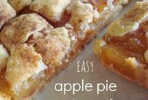 Apple recipes / by Kiley Shewmaker Argo