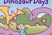 Dinosaur Books for Kids / ROAR! There is much interest in dinosaurs at the Ortega Library. Here are some dinosaur books for you to browse. / by Ortega Public Library