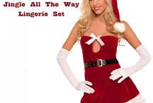 Christmas Ho-Ho-Ho-ery / Sexy Yuletide Fun / by Lingerie Off Price