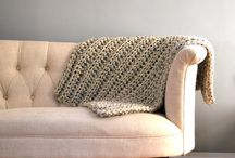 Knit & Crochet Blankets / by Ashley @ A Crafty House