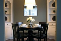 dining room inspiration / by Sarah Budd