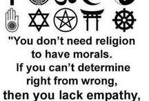 Religion .. / by Marita Sankes