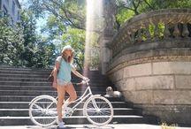 """Bicicleta modelo Florenza / Bicicleta de diseño modelo Leonardo de rodado 28"""". Urbana, de paseo y elegante. Una bicicleta con actitud! / by Taller Inquieto Bicis"""