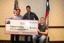 corporate check presentations / Sponsors supporting IAH / by Impact A Hero