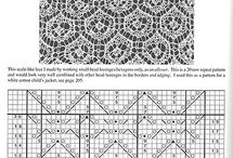 Knitting Lace stitches / by Eltina