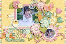 layout de Pâques/Easter / by Micheline Dubé