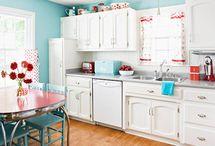 Kitchen Inspiration for Retro Kitchen Knits / by Knit Picks