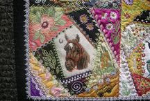 Crazy Quilting by Gerlinde Hruzek / by Taarna T