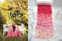 Wedding Ombre Decor / by Love & Lavender